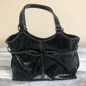 The Sak patent leather satchel